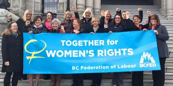 BC Federation of labour lobby