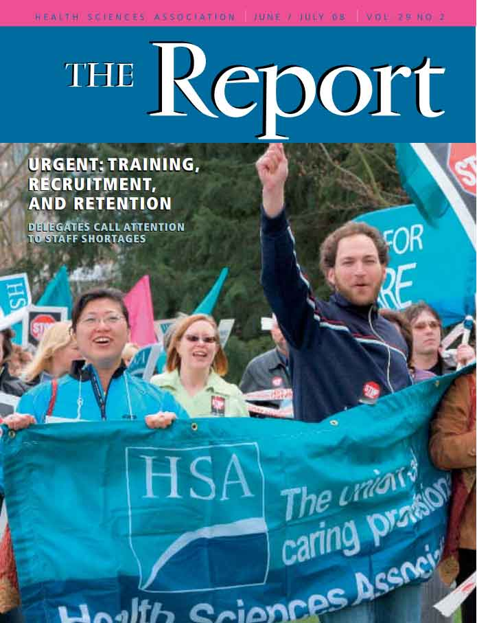 HSA Report July 2008