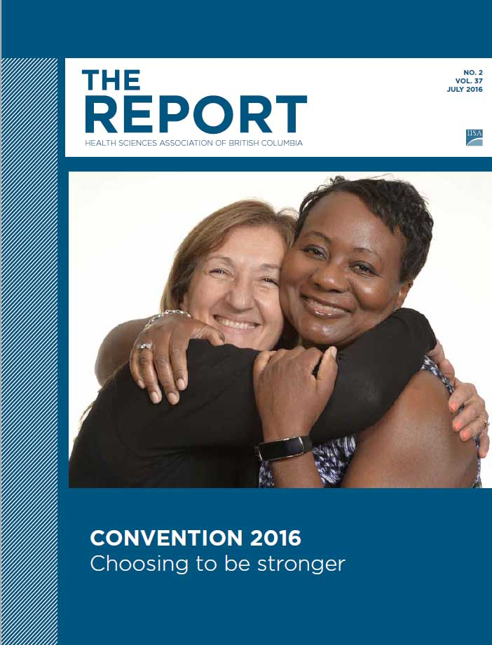 HSA Report Magazine July 2015