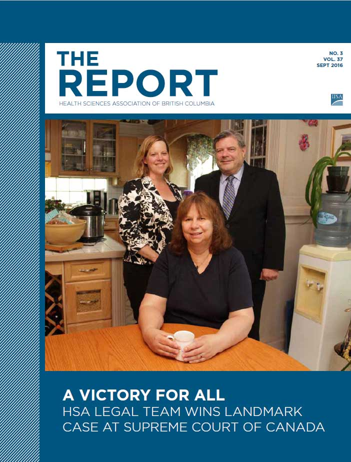 HSA Report Magazine Sept 2016